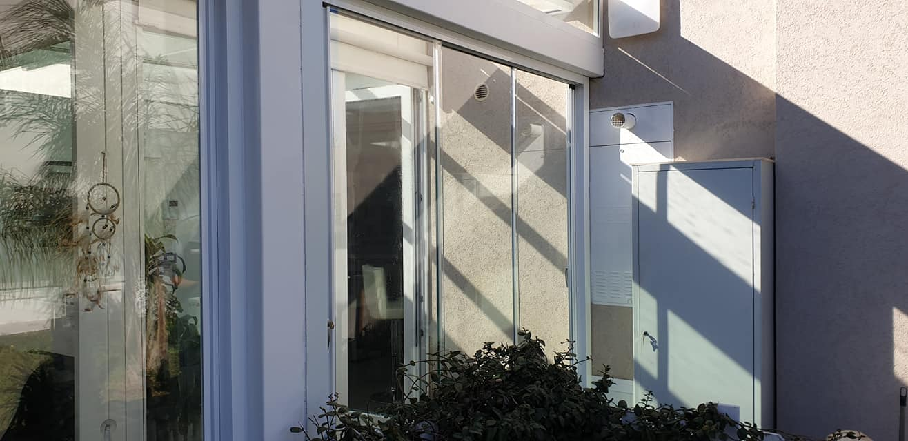 vetrata scorrevole