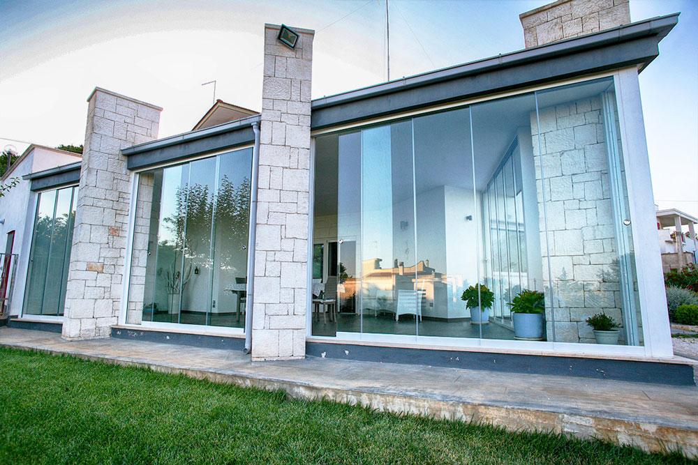 vetrata in casa